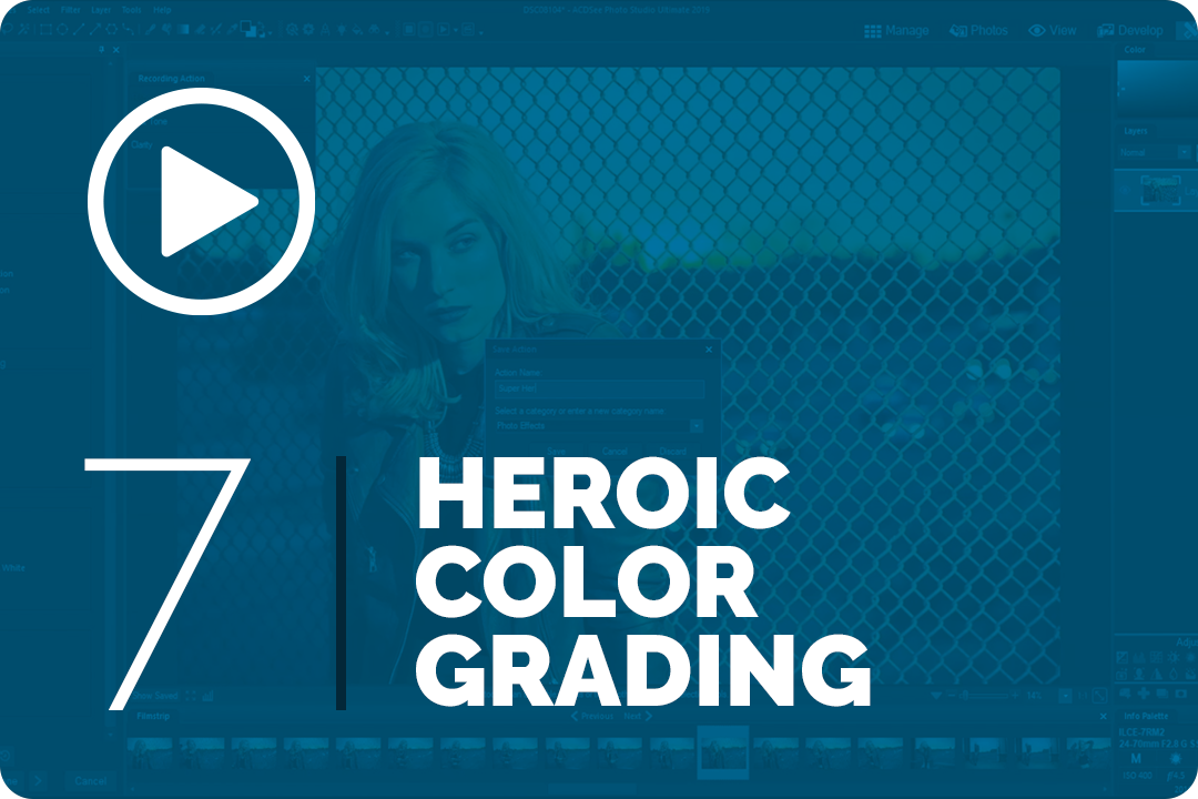 Heroic color grading