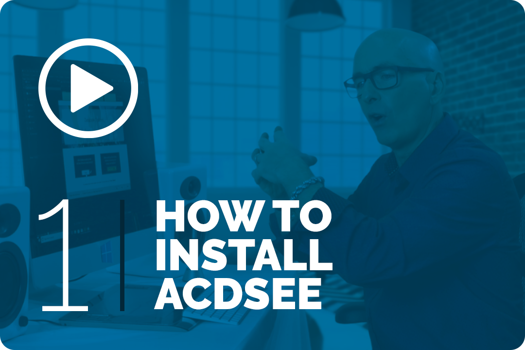 How to install acdsee